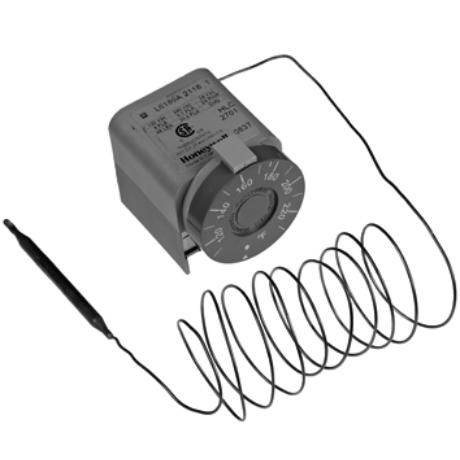 Honeywell L6189A2183 kapilláris termosztát