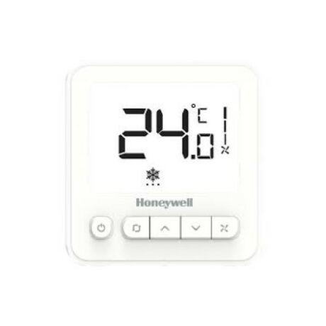 Honeywell WS8 fan-coil termosztát 2/4 csöves rendszerekhez LCD kijelzővel