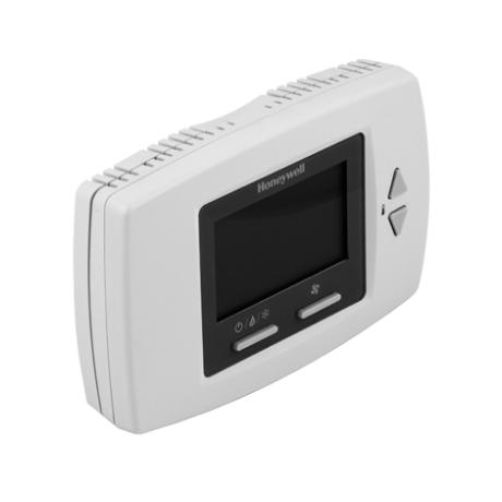 Honeywell T6590B1000 fan-coil termosztát 2/4 csöves rendszerekhez LCD kijelzővel